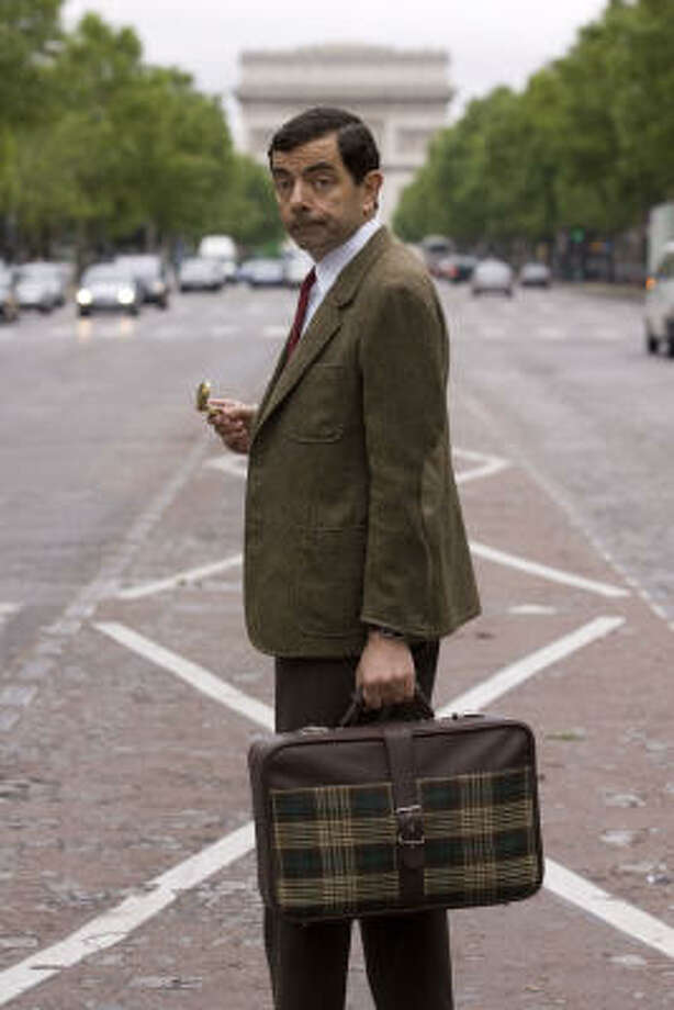 Rowan Atkinson is back in the iconic role that made him an international star in Mr. Bean's Holiday. Photo: Courtesy Photo