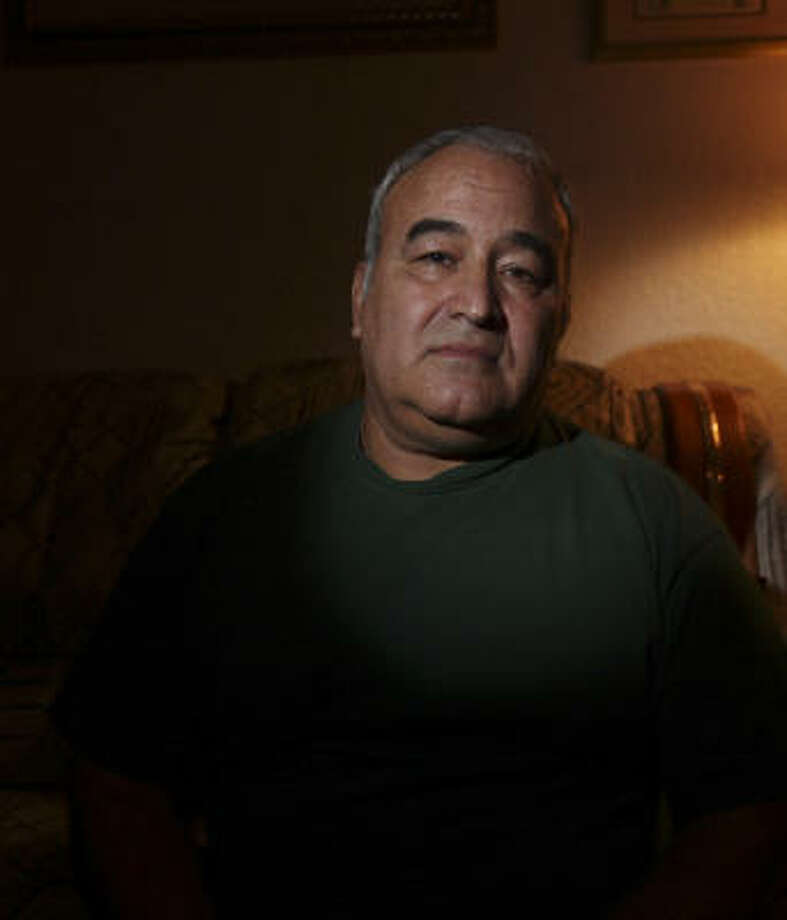 Louie Caraballo, 60, who was shot during the Luby's rampage in 1991, says Killeen has adopted the military creed of not leaving anyone behind in times of tragedy. Photo: EDWARD A. ORNELAS, SAN ANTONIO EXPRESS-NEWS