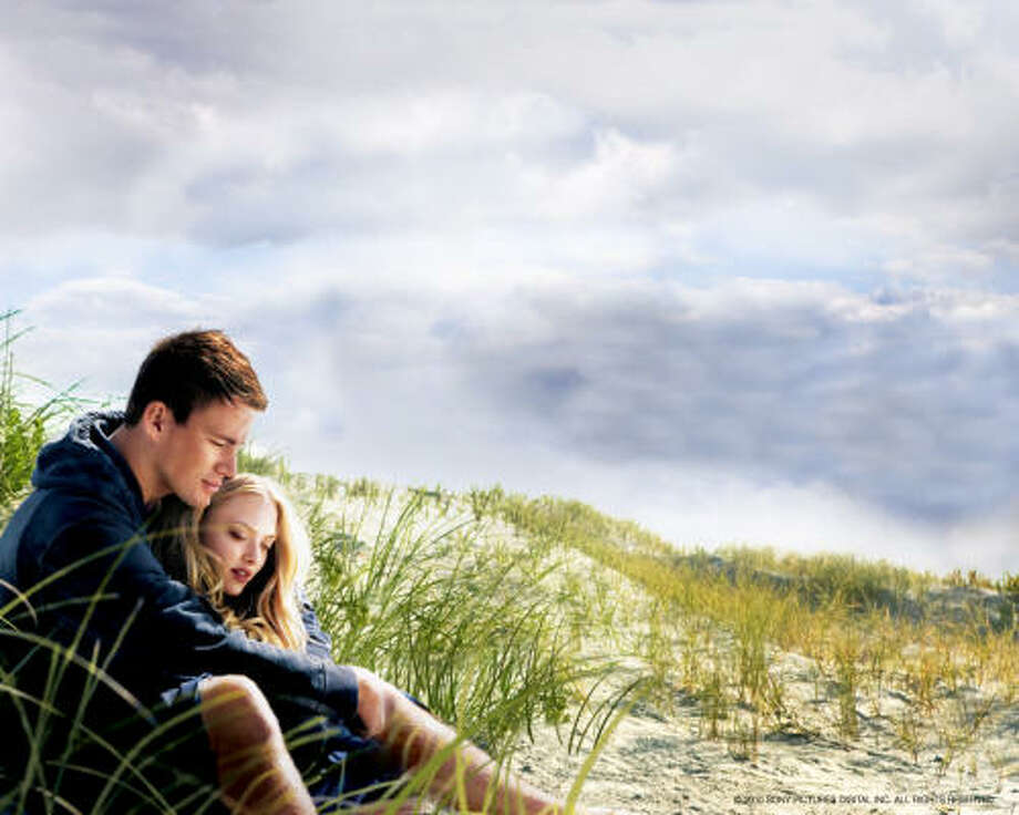 Dear John stars Channing Tatum as a soldier on leave who falls in love with a college student, played by Amanda Seyfried. Photo: SONY