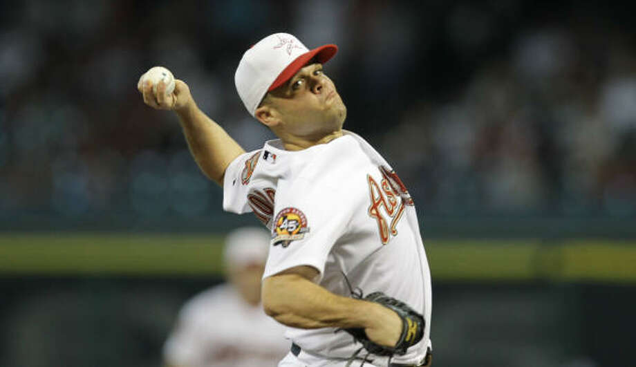 Wandy Rodriguez made $5 million after losing his arbitration case last season. Photo: Nick De La Torre, Chronicle