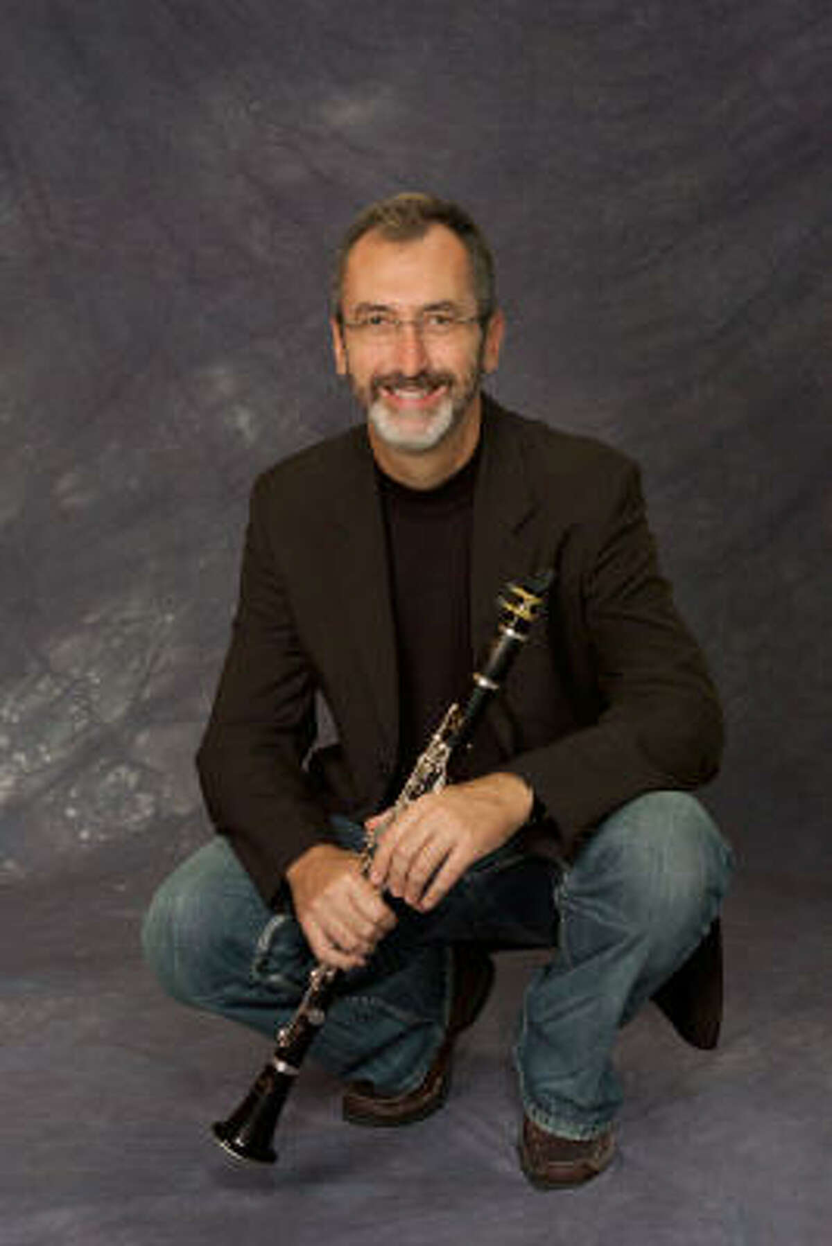 Clarinet player Nathan Williams, who teaches at the University of Texas' Butler School of Music, is performing with the River Oaks Chamber Orchestra in Houston.