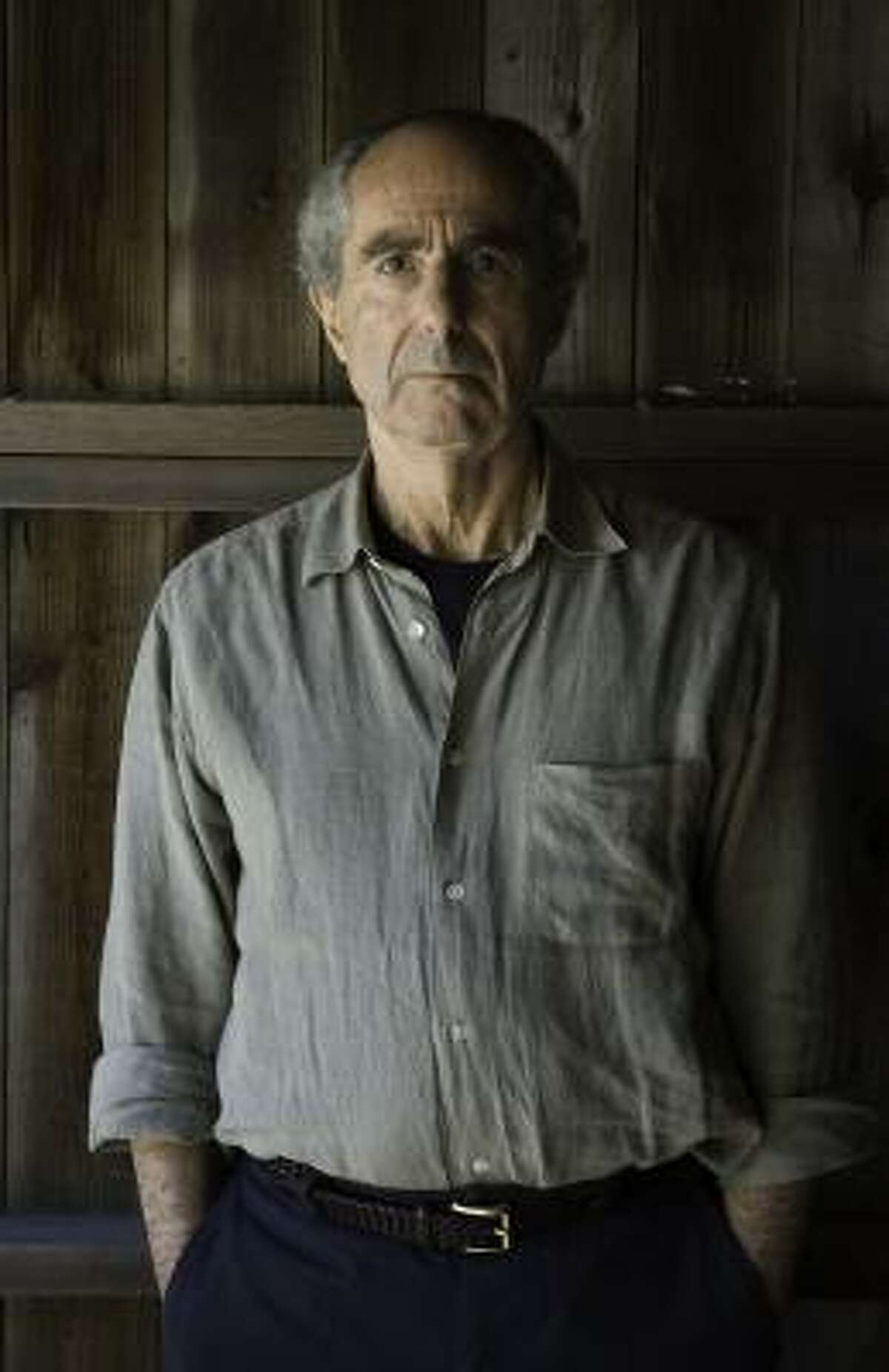 Novelist Philip Roth is 74 and has been writing about Nathan Zuckerman since the 1970s.