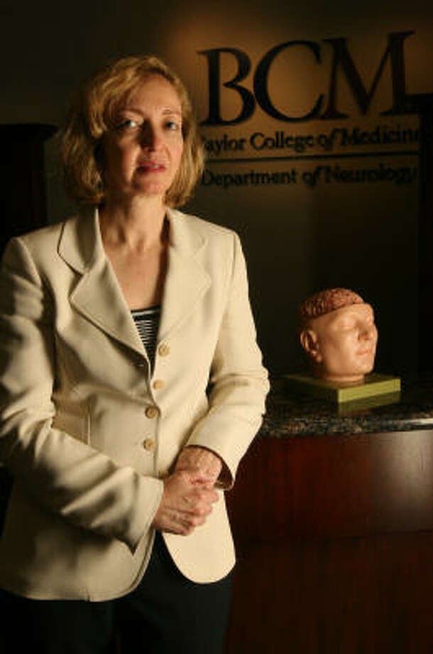 Dr. Rachelle Doody works to shed light on Alzheimer's disease. Photo: Mayra Beltran, Houston Chronicle