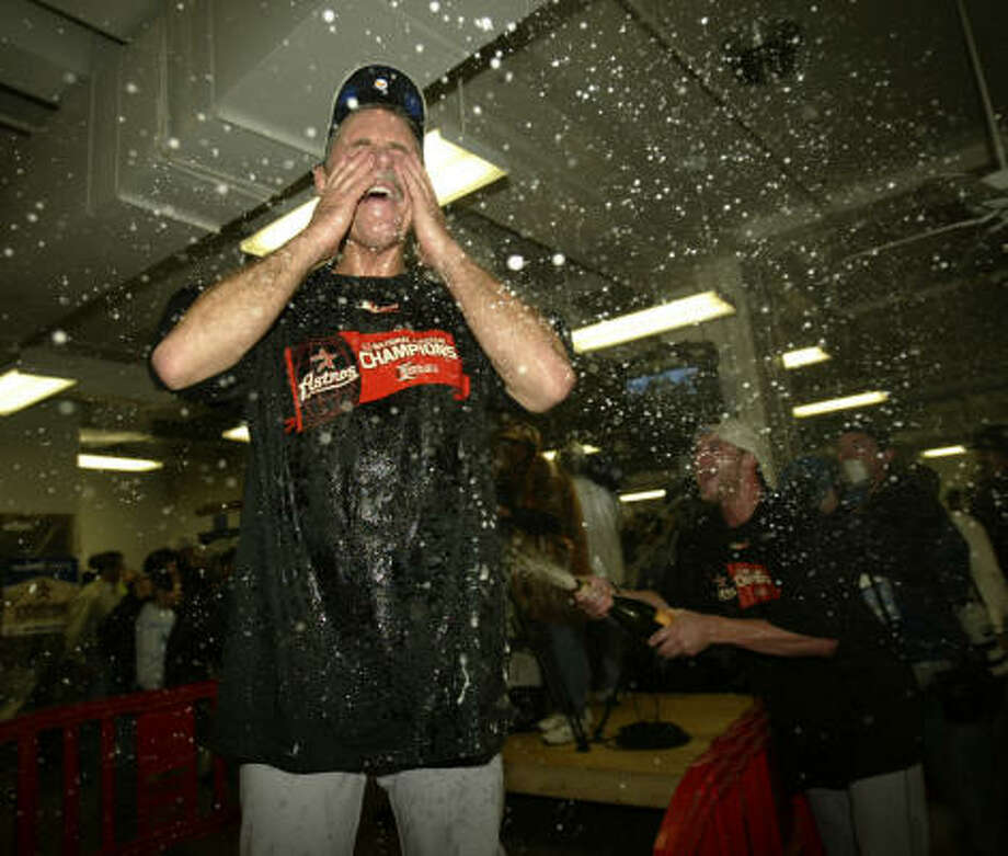 Phil Garner managed the Astros to the only World Series berth in the franchise's history in 2005. Photo: Karen Warren, Chronicle
