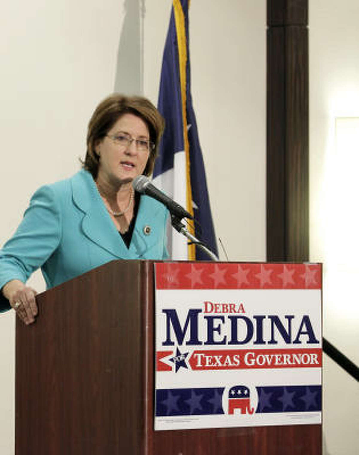 Despite the 9/11 controversy, Debra Medina still says she expects to win the Republican gubernatorial nomination.