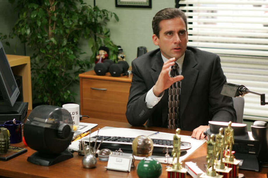 "Steve Carell portrays boss Michael Scott on ""The Office."" Photo: Justin Lubin, NBC Universal"