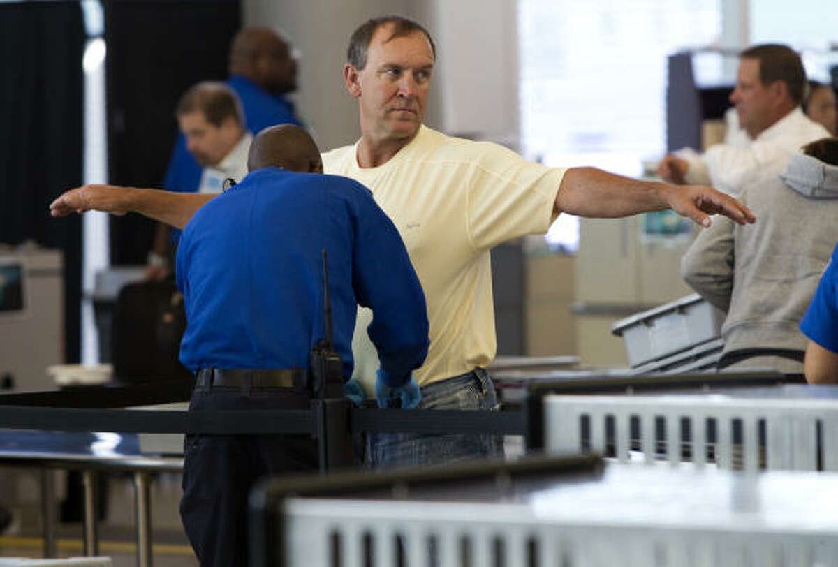 Transportation Security Administration officers last month began patting down some passengers in a manner that some say can be too intimate.