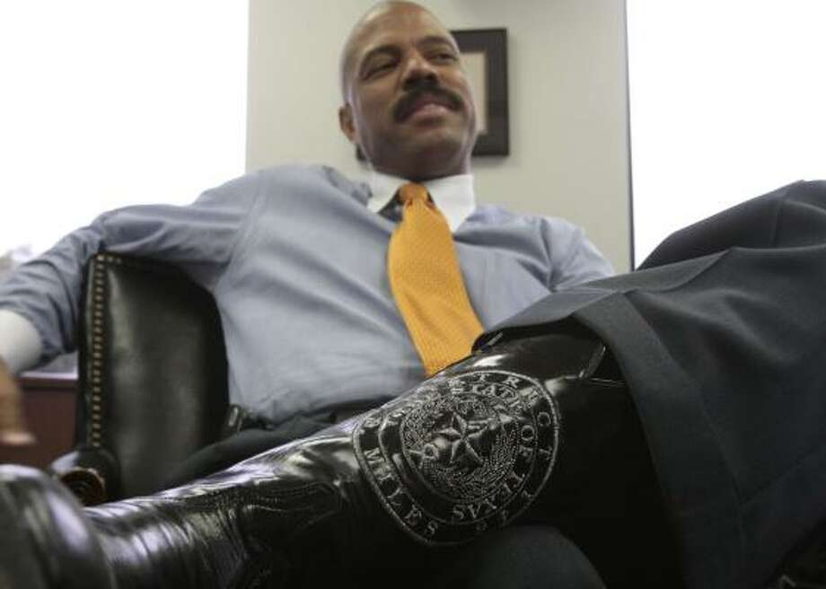 State legislator Borris Miles, who represents District 146, is the subject of a lawsuit related to his behavior. Photo: BILLY SMITH II, CHRONICLE