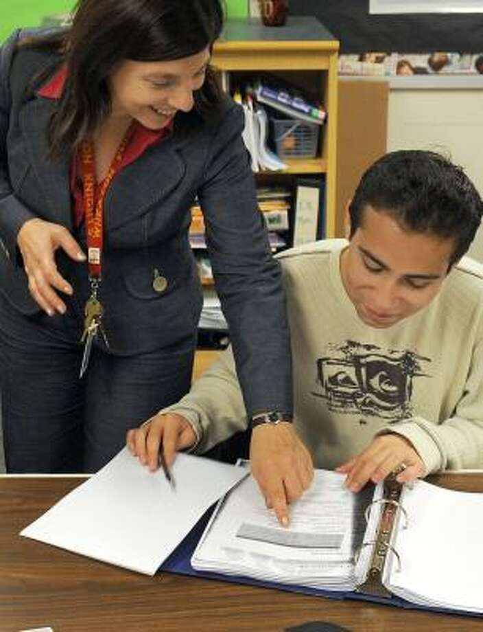 About 2,000 students took the Italian language Advanced Placement test. Photo: KATHERINE FREY, WASHINGTON POST
