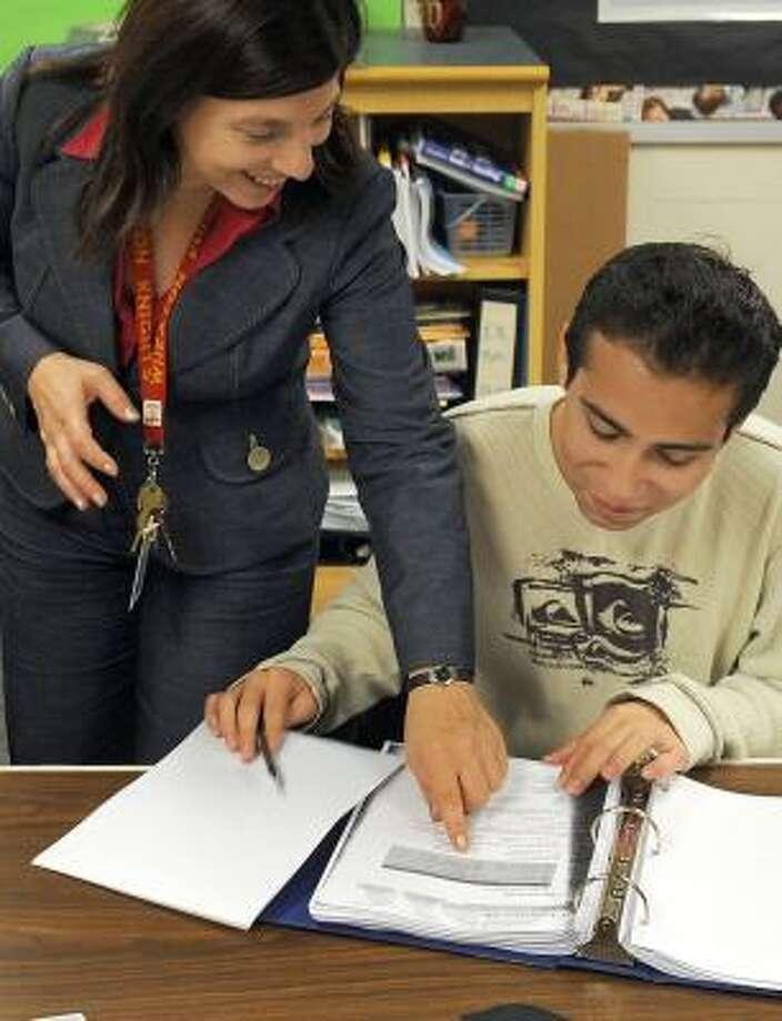 About 2,000 students took the Italian language Advanced Placement test. Photo: KATHERINE FREY, WASHINGTON POST
