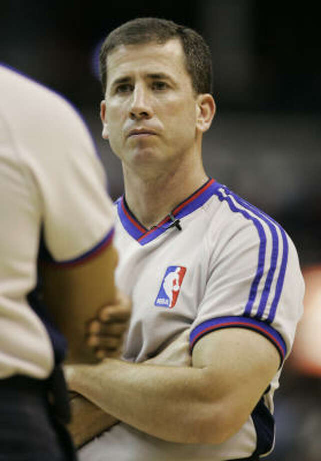Former referee Tim Donaghy charged Tuesday that NBA officials encouraged league referees to influence the results of playoff series. Photo: Haraz N. Ghanbari, AP
