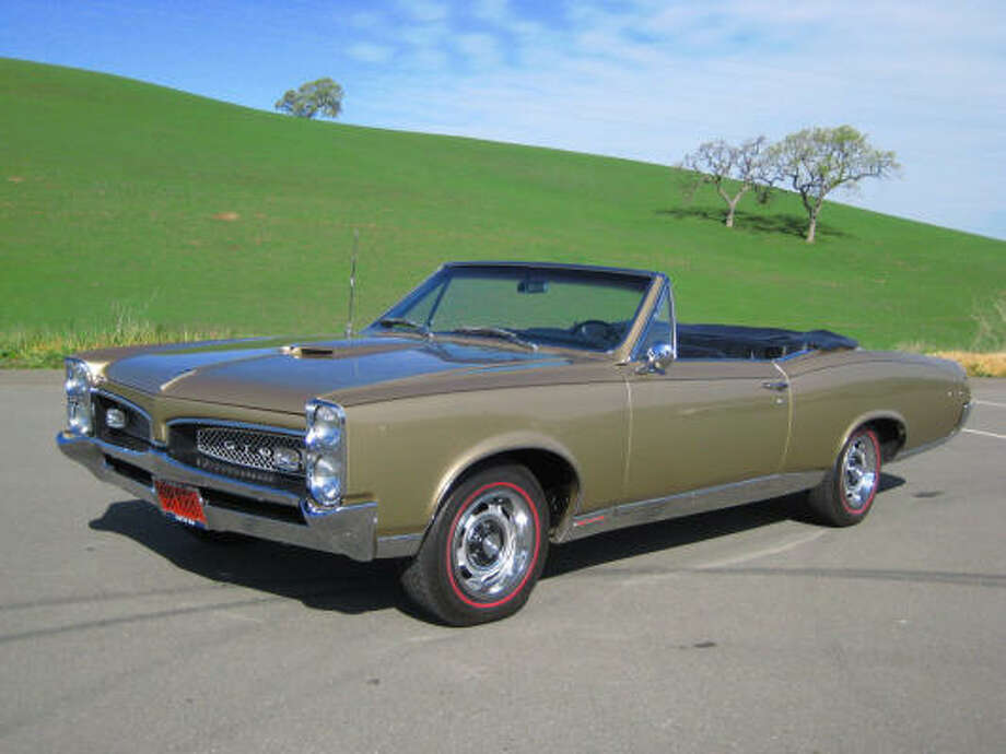 This 1967 Pontiac Gto Convertible Was Purchased New By Cur Owner S Father It Red