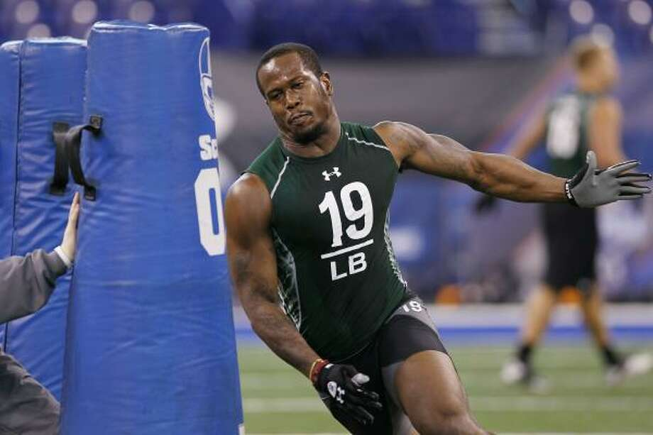 Von Miller stands a good chance of becoming A&M's highest draft selection since 1992. Photo: Joe Robbins, Getty Images