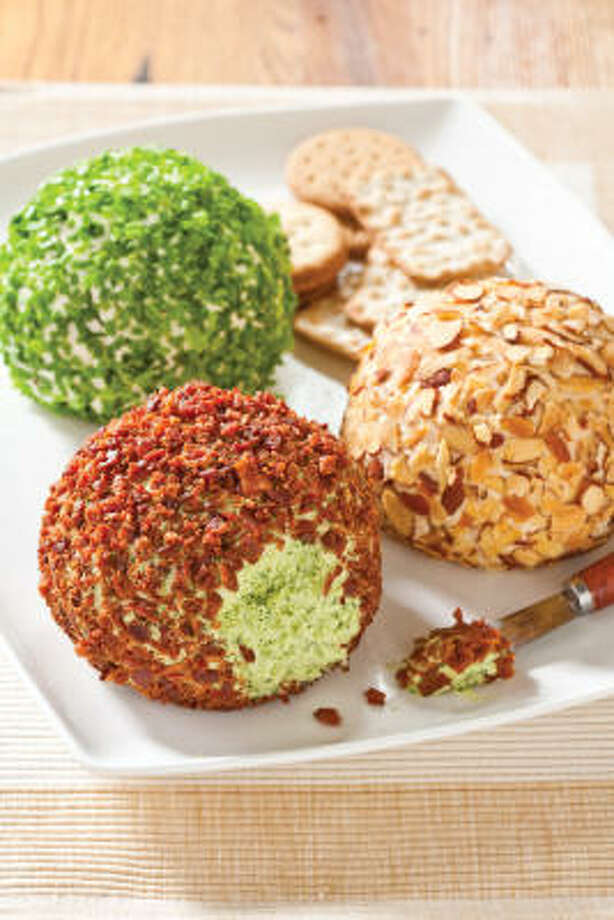 With a few simple substitutions, a Classic Cheddar Cheese Ball recipe can yield infinite variations. Photo: America's Test Kitchen