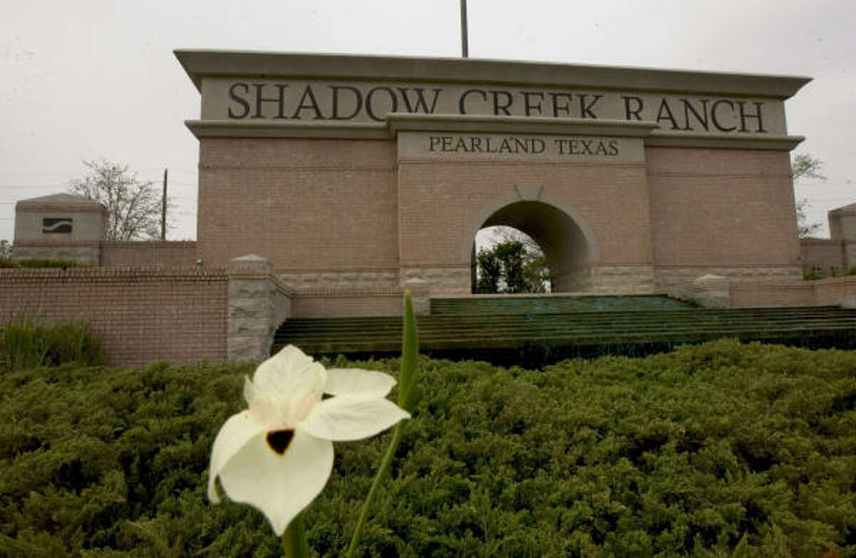 MORE SALES, LESS PRICE: Shadow Creek Ranch experienced an average drop of 3.5 percent in sales prices of its homes last year, although total sales were up from the year before.