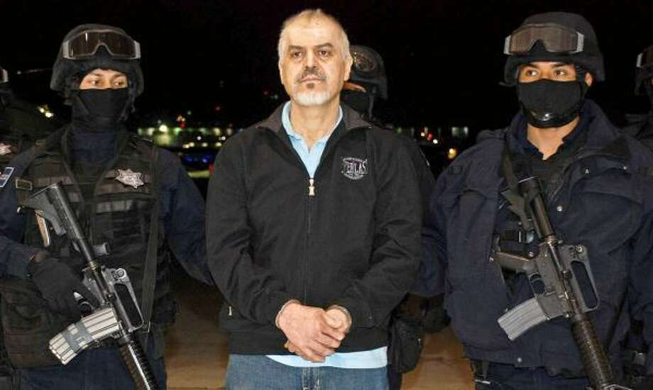 Suspected leader of Tijuana cartel arrested - Houston Chronicle