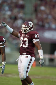 Defensive end Tony Jerod-Eddie says the Aggies were still learning under coordinator Tim DeRuyter during the Cotton Bowl loss but that all the learning should be in the past. Photo: Courtesy Photo/Texas A&M