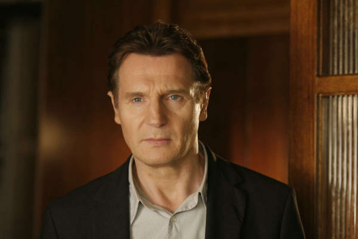 Liam Neeson stars as an angry husband who tracks down his adulturous wife's lover in