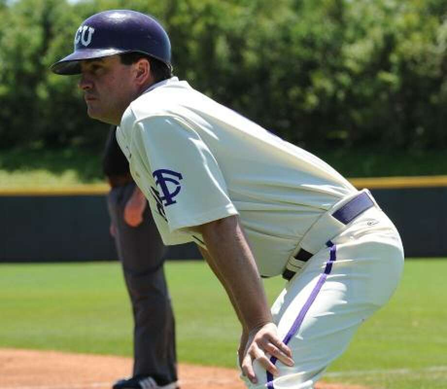 Todd Whitting helped lead TCU to a 54-14 season and a College World Series appearance. Photo: Michael Clements, Courtesy Of TCU