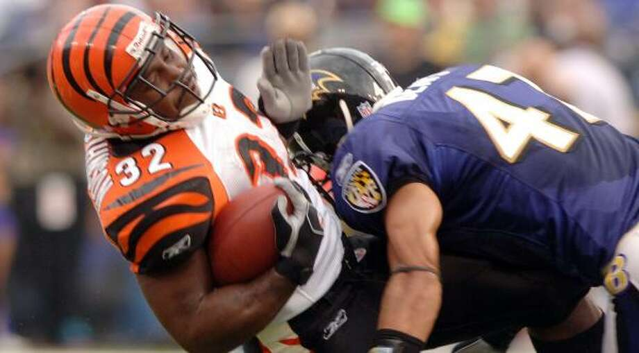 Will Demps in his days as a Baltimore Raven. Photo: George Bridges, KRT