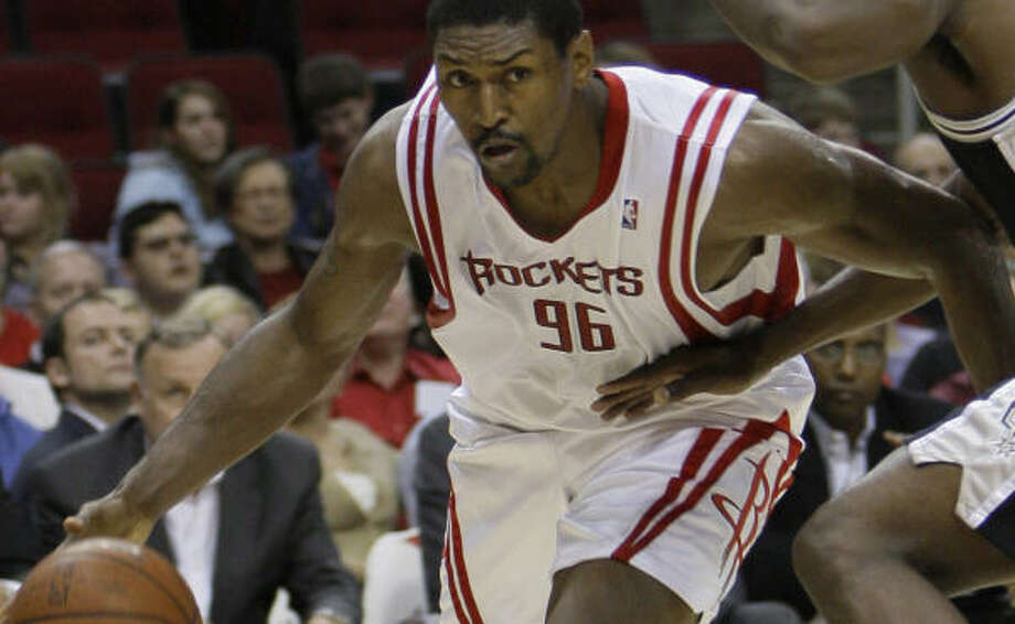 Rockets forward Ron Artest is also expected to be out on Tuesday against the Lakers. Photo: Melissa Phillip, Chronicle