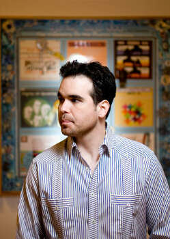 Dario Robleto is one of the artists featured in The Old, Weird America at the Contemporary Arts Museum, Houston. Photo: Nick De La Torre, Chronicle