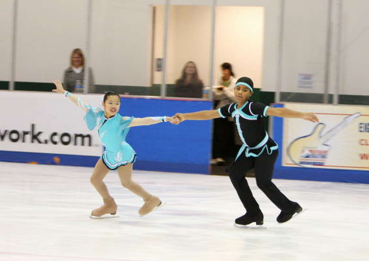 Emily Chan, from Pasadena, and her skating partner Daniel Vallecilla, competed against top skaters from across the country when they took the gold at the U.S. Junior National Championships on Dec. 10 through 13.
