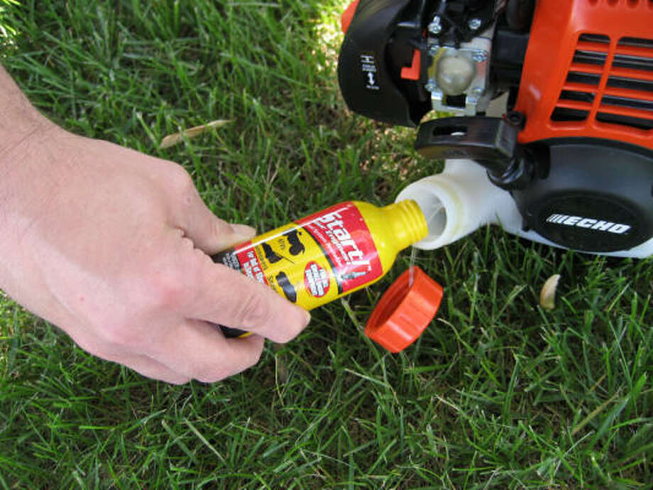 KEEP IT CLEAN: Get your lawn mower and other small engine equipment started with Start Your Engines!, a new fuel system revitalizer.