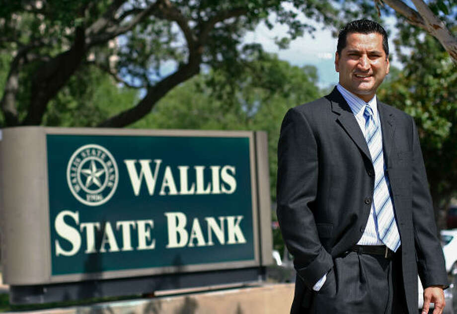 Wallis State Bank CEO Asif Dakri  says trust is an asset that will help with the foray into mortgages. Photo: Evan White, Chronicle
