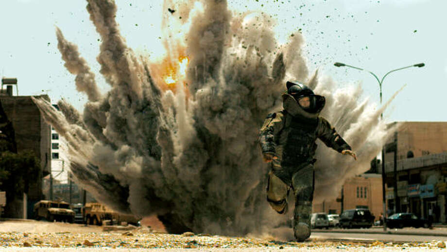 Best Picture nominee The Hurt Locker stars Jeremy Renner, above (who's nominated for best actor), was directed by Kathryn Bigelow (who garnered a best director nomination) and might just take down the Goliath that is Avatar. Photo: Summitt Entertainment