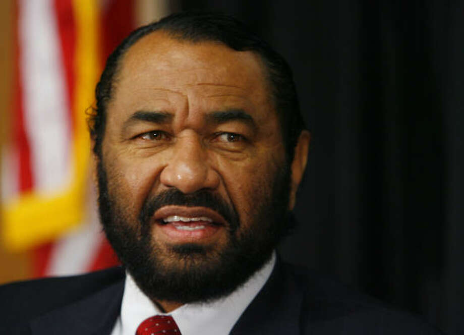 U.S. Rep. Al Green says that as the son of a man who couldn't read or write, he can now write laws for 300 million. Photo: Steve Ueckert, Chronicle File