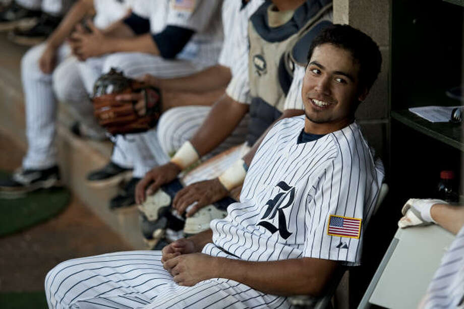 Rice third baseman Anthony Rendon leads the team in batting average, home runs and RBIs. Photo: Nathan Lindstrom, For The Chronicle