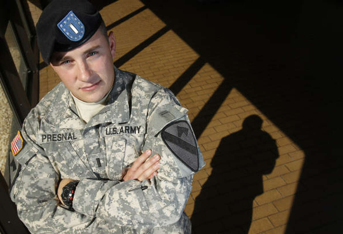 U.S. Army 1st Lt. Ryan Presnal says of the suicides,