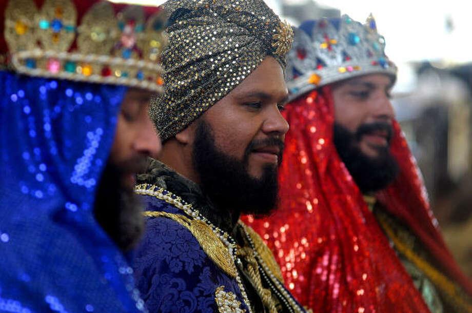 Melchor, Gaspar y Baltasar siguen siendo tradición y motivo de alegría en los países latinos y, sin embargo, su historia es difícil de reconstruir. Photo: Thais Llorca, EFE
