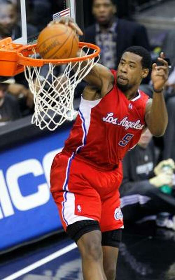 Los Angeles Clippers center DeAndre Jordan said he dreamed of playing for the Rockets while growing up. Photo: Harry E. Walker, MCT