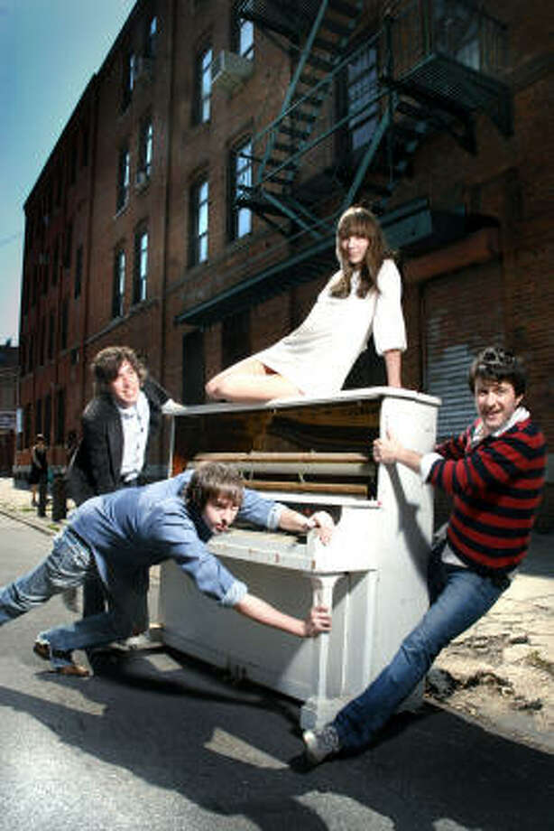 Indie-rock band Bishop Allen. Photo: Aubrey Edwards
