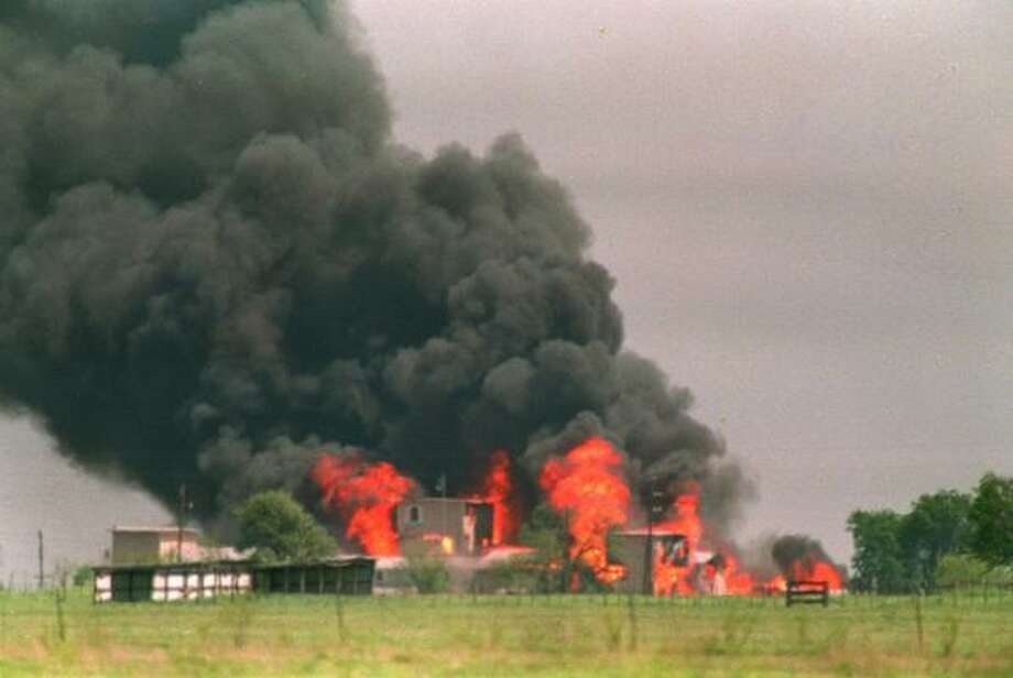 The deadly raid and fire in 1993 at the Branch Davidian compound in Waco is being depicted on the big screen, and the producer says he wants to film it in Texas. Photo: SUSAN WEEMS, Associated Press