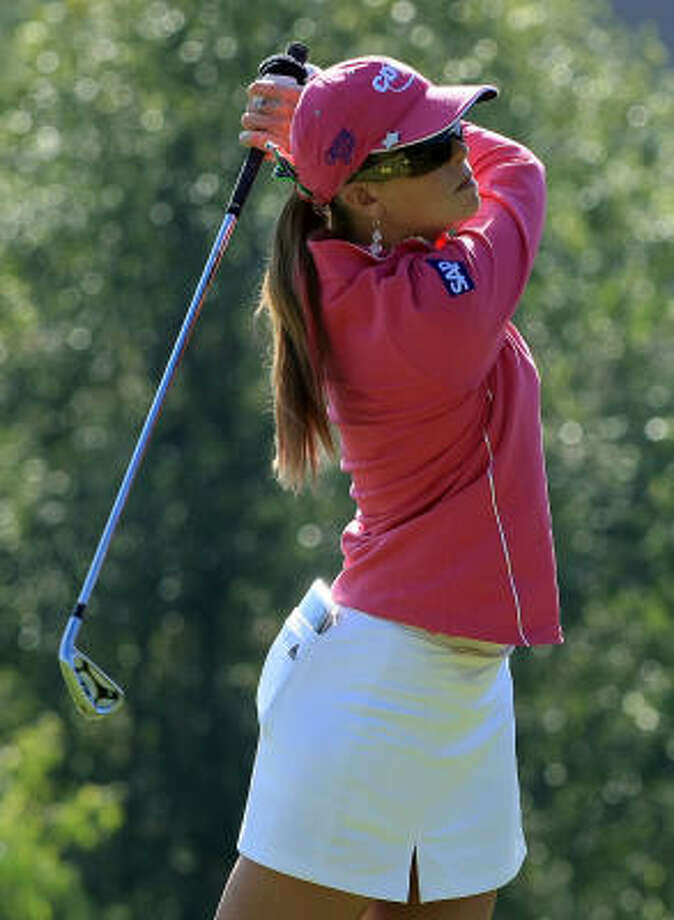 Paula Creamer will captain the American team at the 2009 Spirit International Championship in Trinity. Photo: Scott Halleran, Getty Images