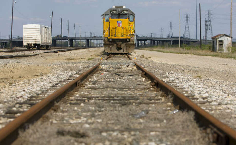 Union Pacific and the Justice Department both have lawsuits pending. Photo: Sharon Steinmann, Chronicle