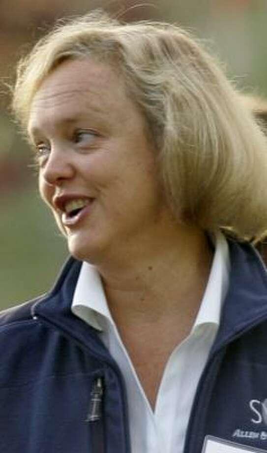 Outgoing eBay CEO Meg Whitman said 10 years was as long as any CEO should serve. Photo: Douglas C. Pizac, ASSOCIATED PRESS FILE