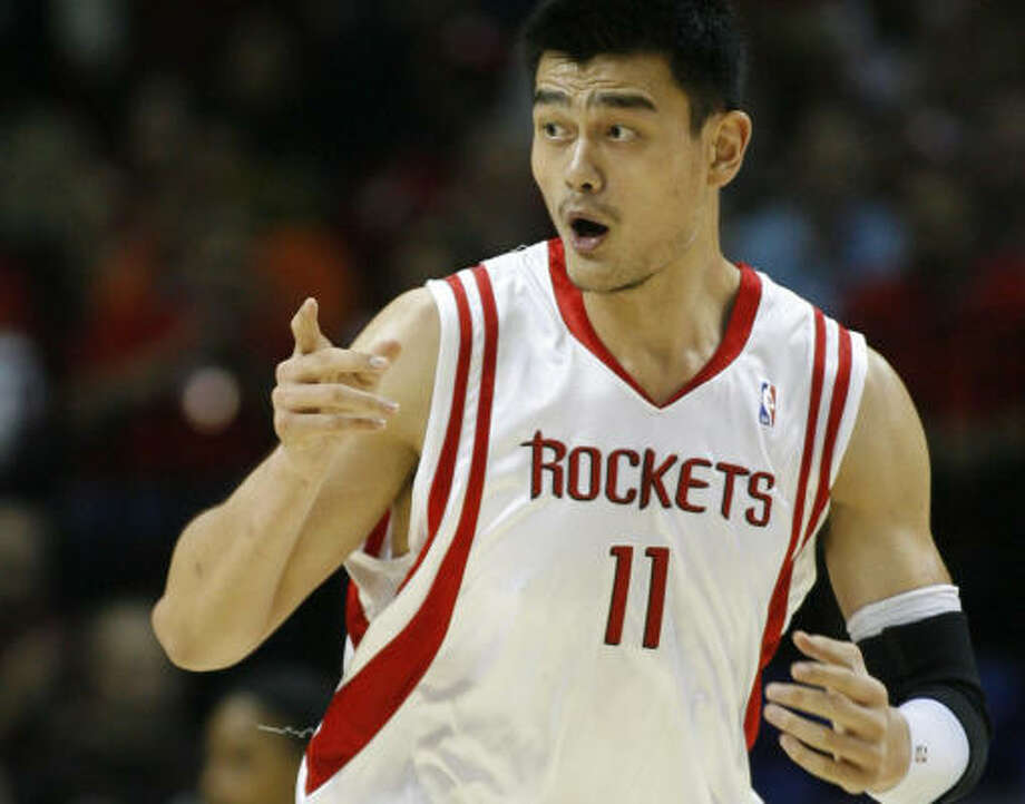 Western ConferenceYao Ming, C, Rockets 1,709,180 votes, 6th All-Star selection Photo: Kevin Fujii, Chronicle