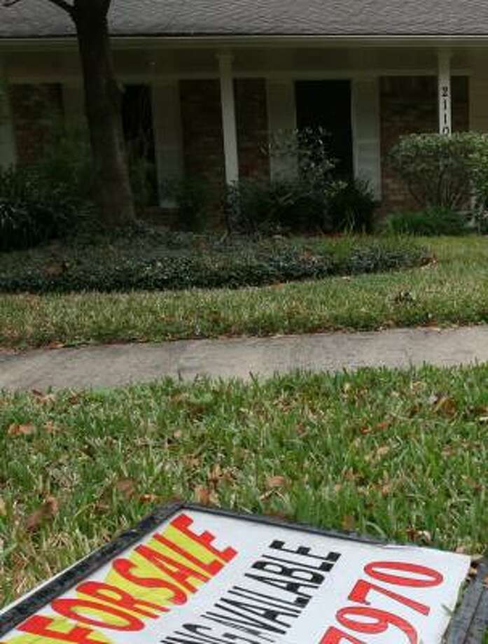 A home in Katy waits for a buyer in January. Photo: SHARÓN STEINMANN, CHRONICLE