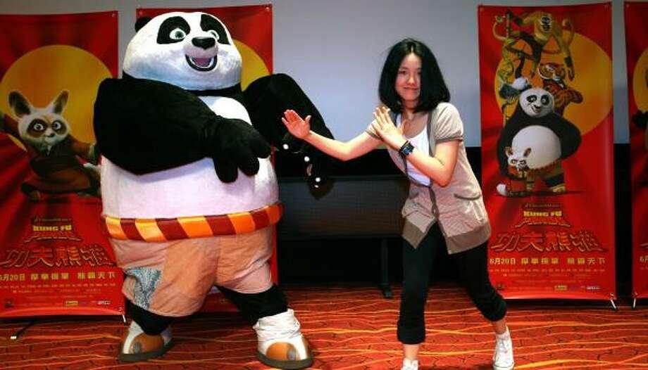 Chinese Ask Why Didnt We Make Kung Fu Panda Houston Chronicle