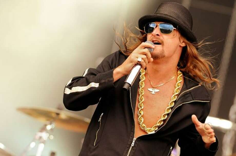 Kid Rock will perform in The Woodlands on a bill with Lynyrd Skynyrd. Photo: JOERG KOCH, AFP/GETTY IMAGES