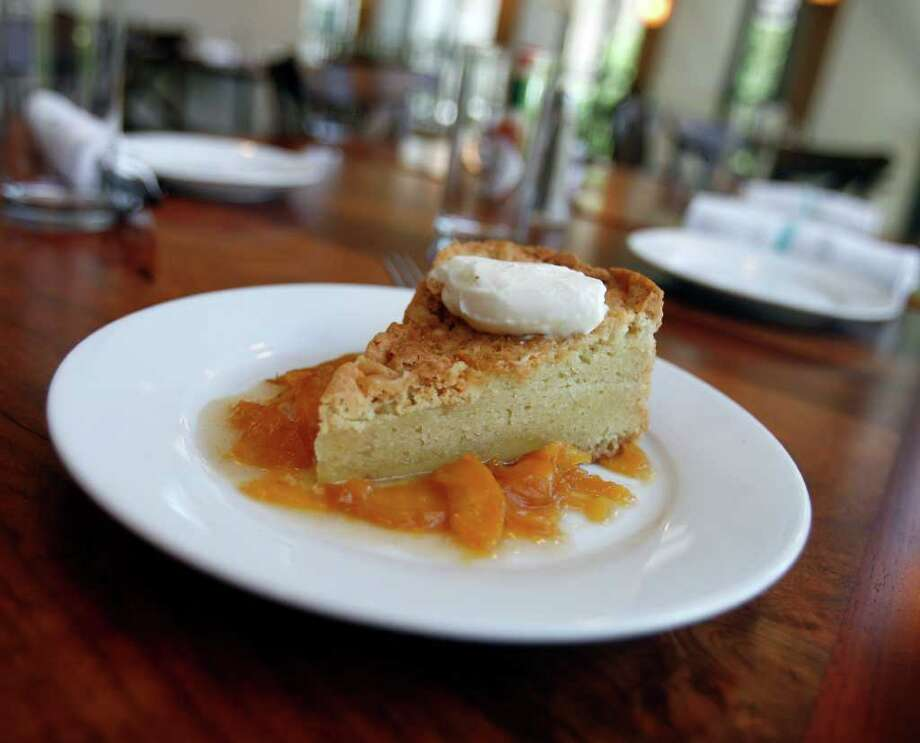Gâteau Basque dessert served at Lüke Restaurant is an any-time-of-the-day cake that is also ideal for a Sunday brunch. Photo: OMAR PEREZ, San Antonio Express-News / SAN ANTONIO EXPRESS-NEWS