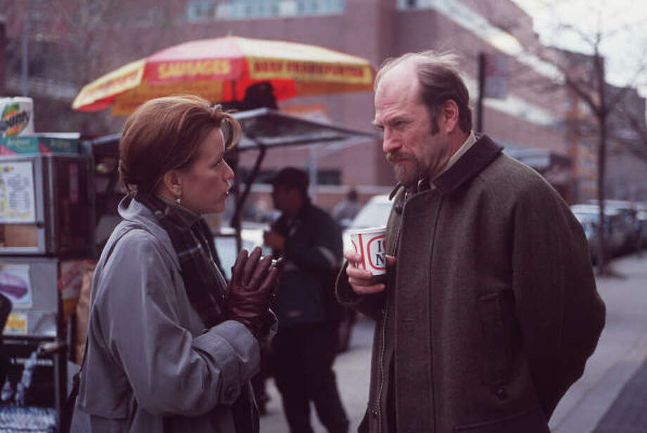 Ted Levine, rigth, as Dr. Robert Banger in ABC's Wonderland. Photo: ERIC LEBOWITZ :, ABC