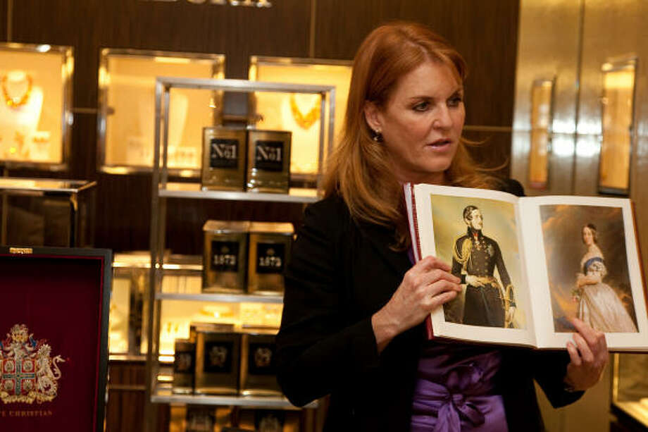 Sarah Ferguson co-produced the film 'The Young Victoria. Photo: Annette Brown, Getty Images