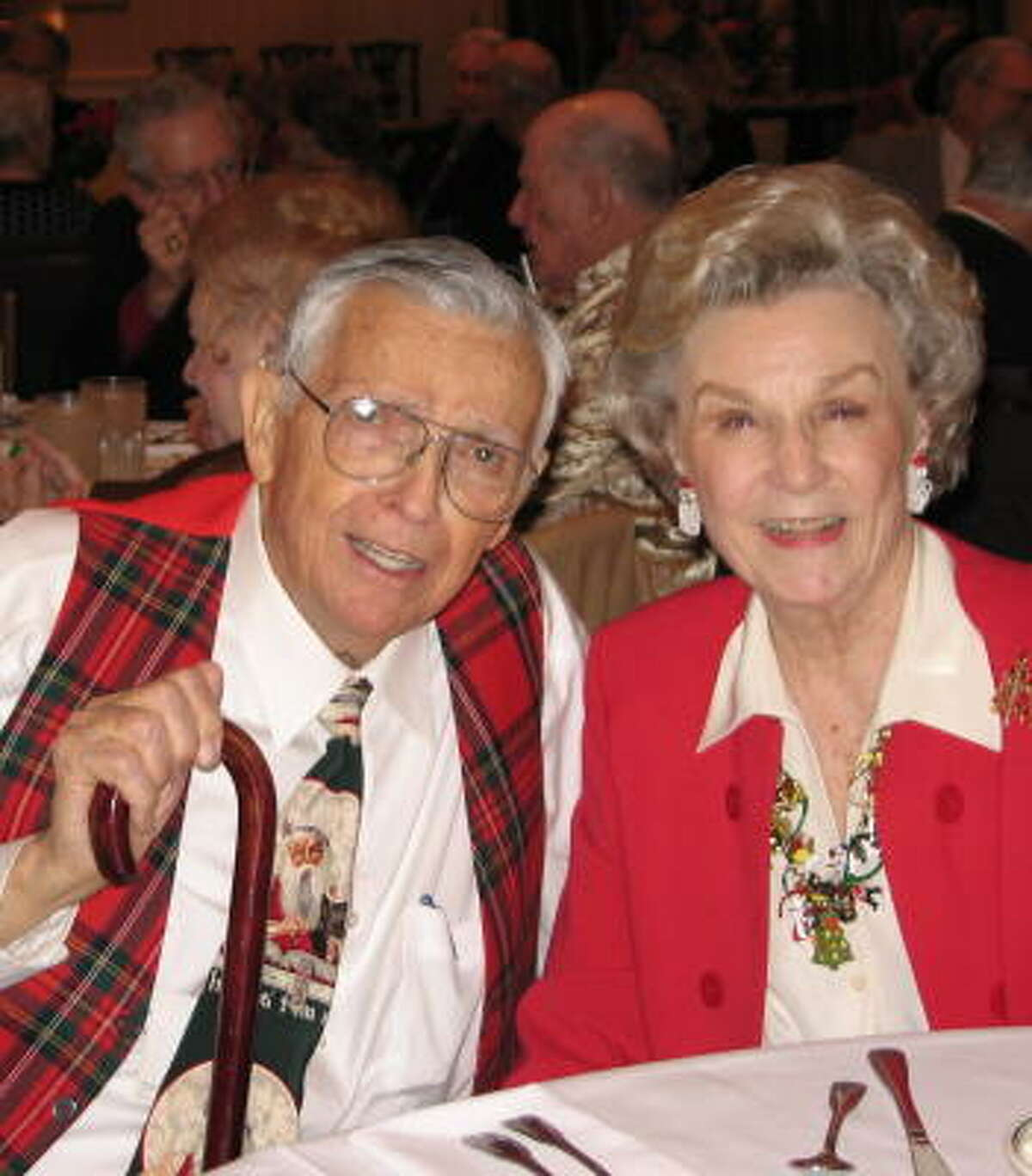 Joe Reynolds was married to his wife, Susie, for 61 years.