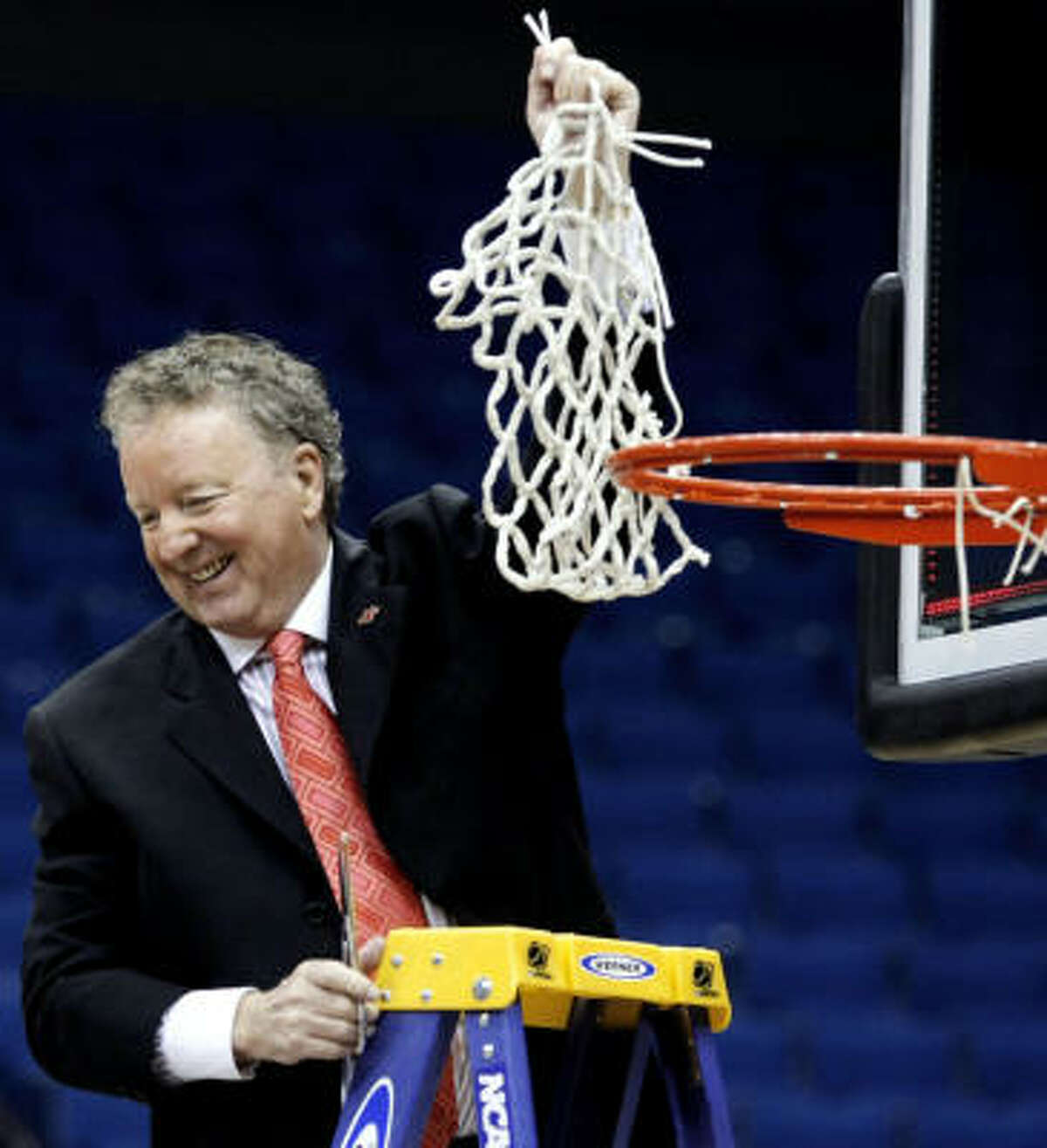 Houston coach Tom Penders guided the Cougars to the Conference USA tournament title and first NCAA appearance since 1992.