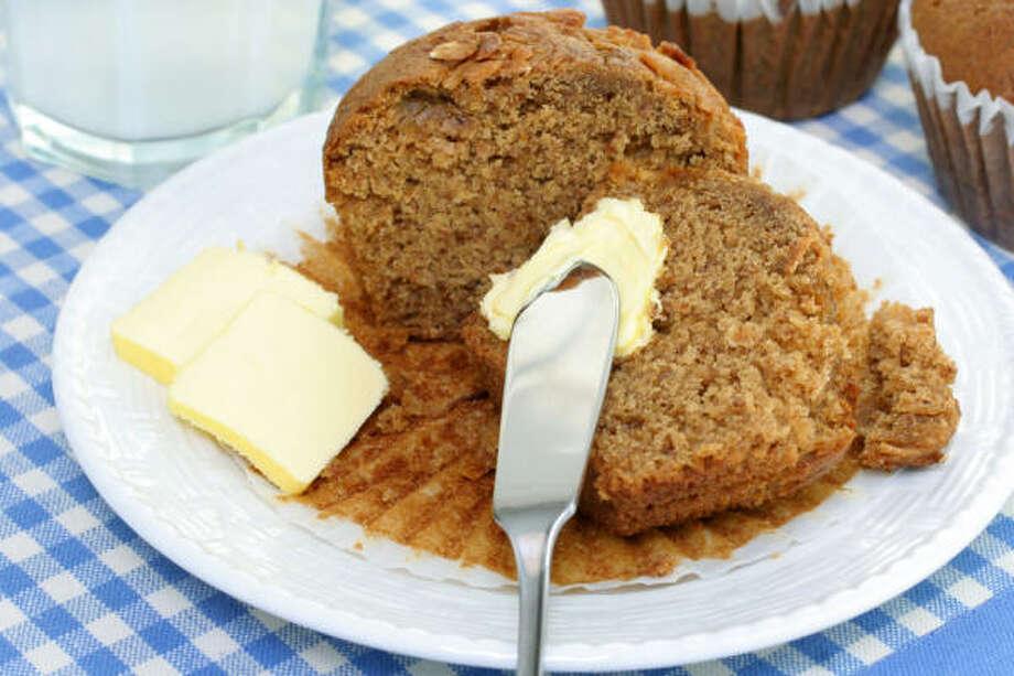 Whole Wheat Muffins Photo: FOTOLIA